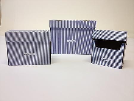 4 tigre de papel cajas de fichas A5 cartón rayas Diseño blws ...