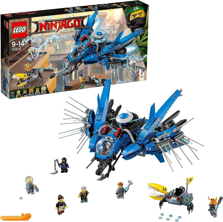 LEGO Ninjago - Jet del Rayo, Juguete de Construcción Ninja, Incluye Nave y MiniFiguras (70614) , color/modelo surtido