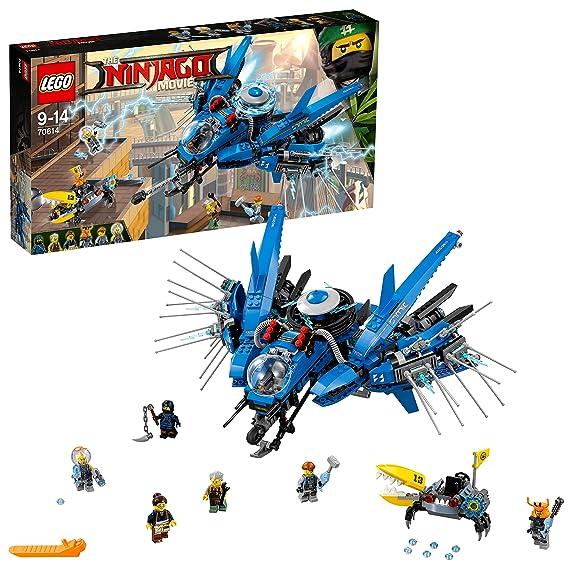 LEGO Ninjago - Jet del Rayo, Juguete de Construcción Ninja, Incluye Nave y MiniFiguras (70614)