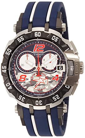 aa1aac93b92 Image Unavailable. Image not available for. Color  Tissot T0924172705703 T- Race Quartz Nicky Hayden Limited Edition 2016