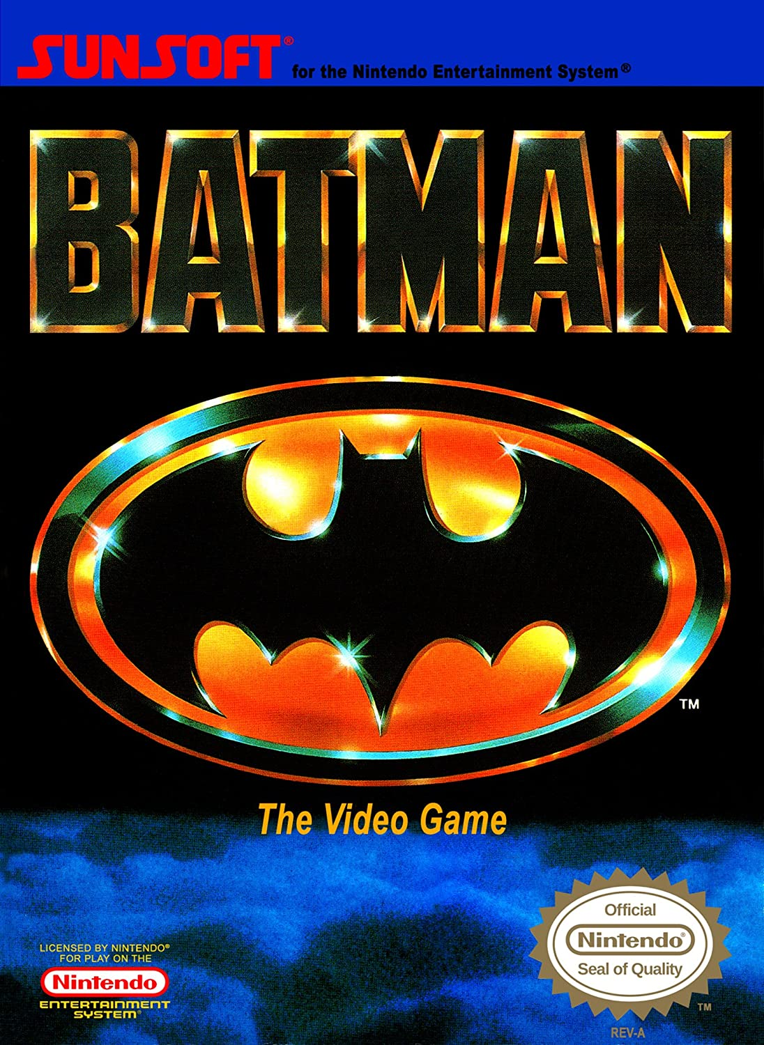 Amazon.com: Batman: The Video Game: Made for Nes System, Mde ...