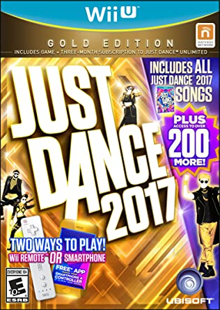 Just Dance 2017 Gold Edition (Includes Just Dance Unlimited