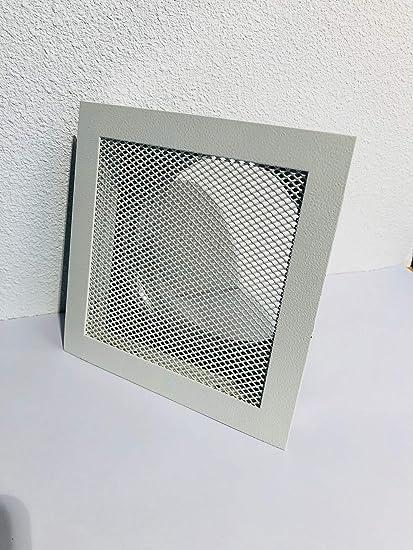 Rejilla de aire caliente, rejilla de horno, rejilla de ventilación altas temperaturas Blanco 180