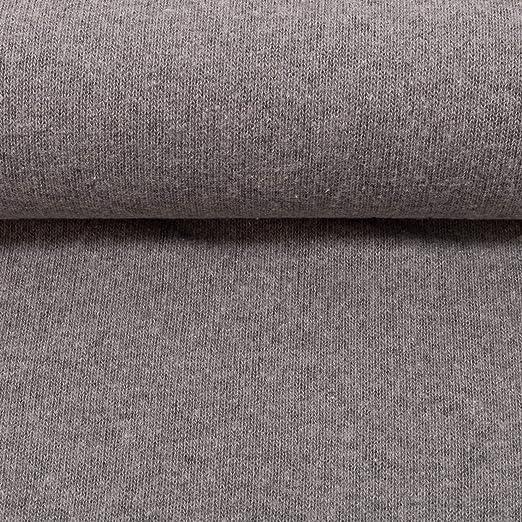 Swafing Bene - Tela de Punto (algodón, 50 x 160 cm), Color Gris ...