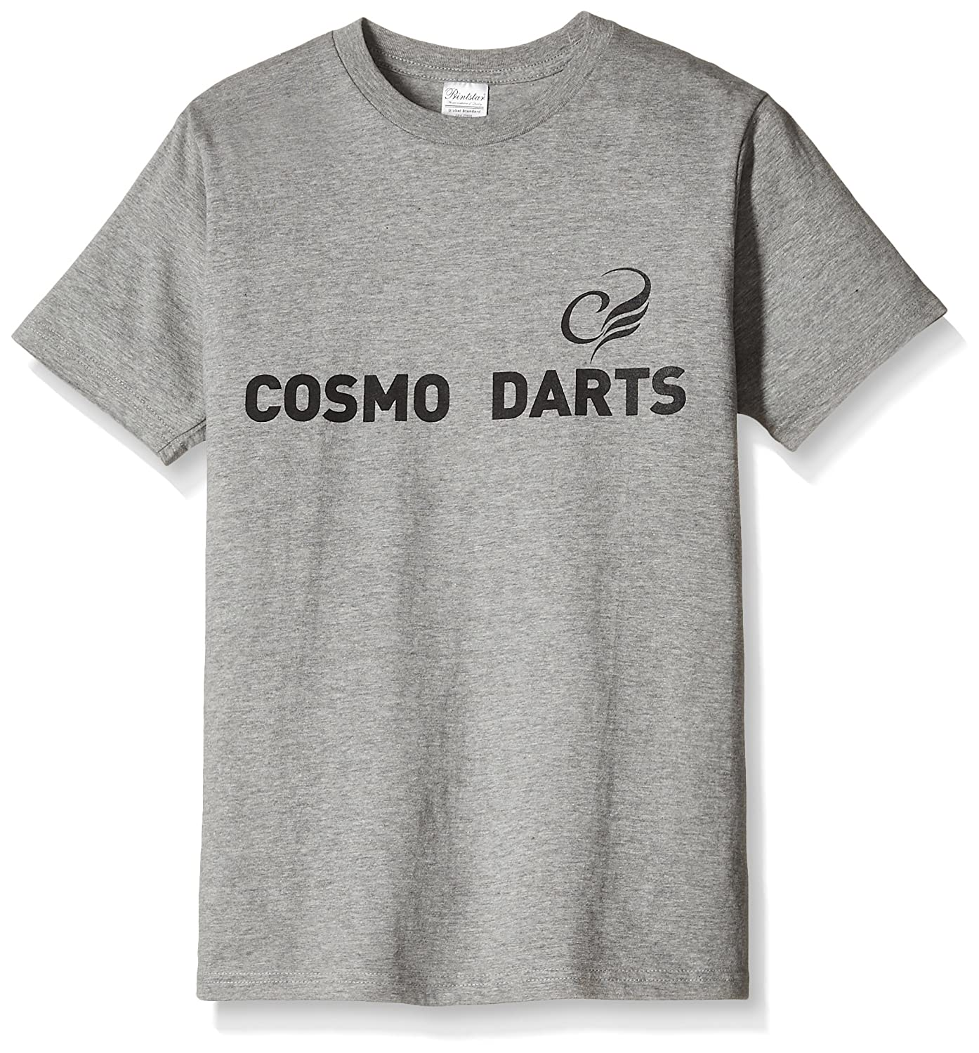 COSMO DARTS accessories logo T shirt grey XL