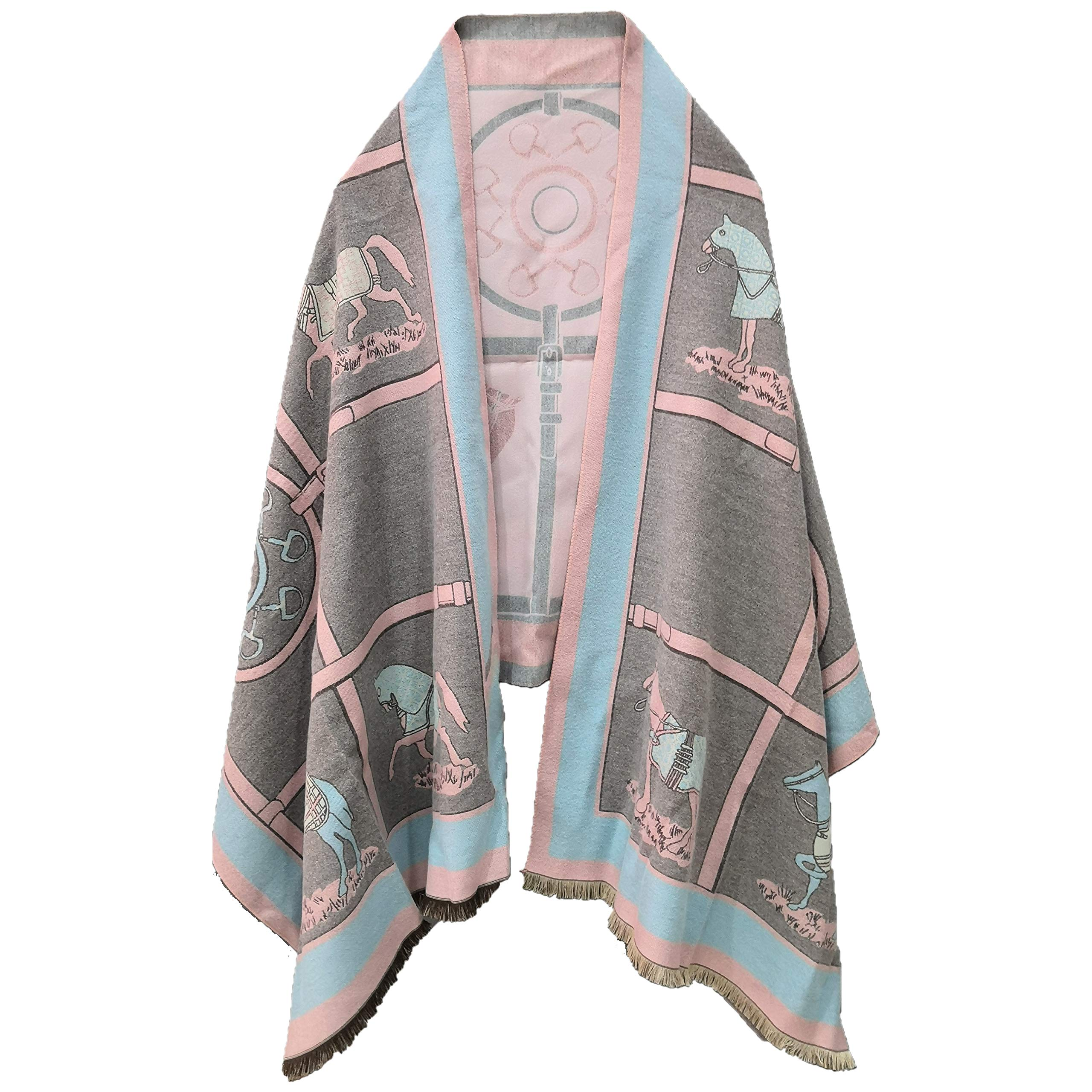 Women Blanket Shawl and Wraps for Summer Evening Dressing -Horse.1 Series