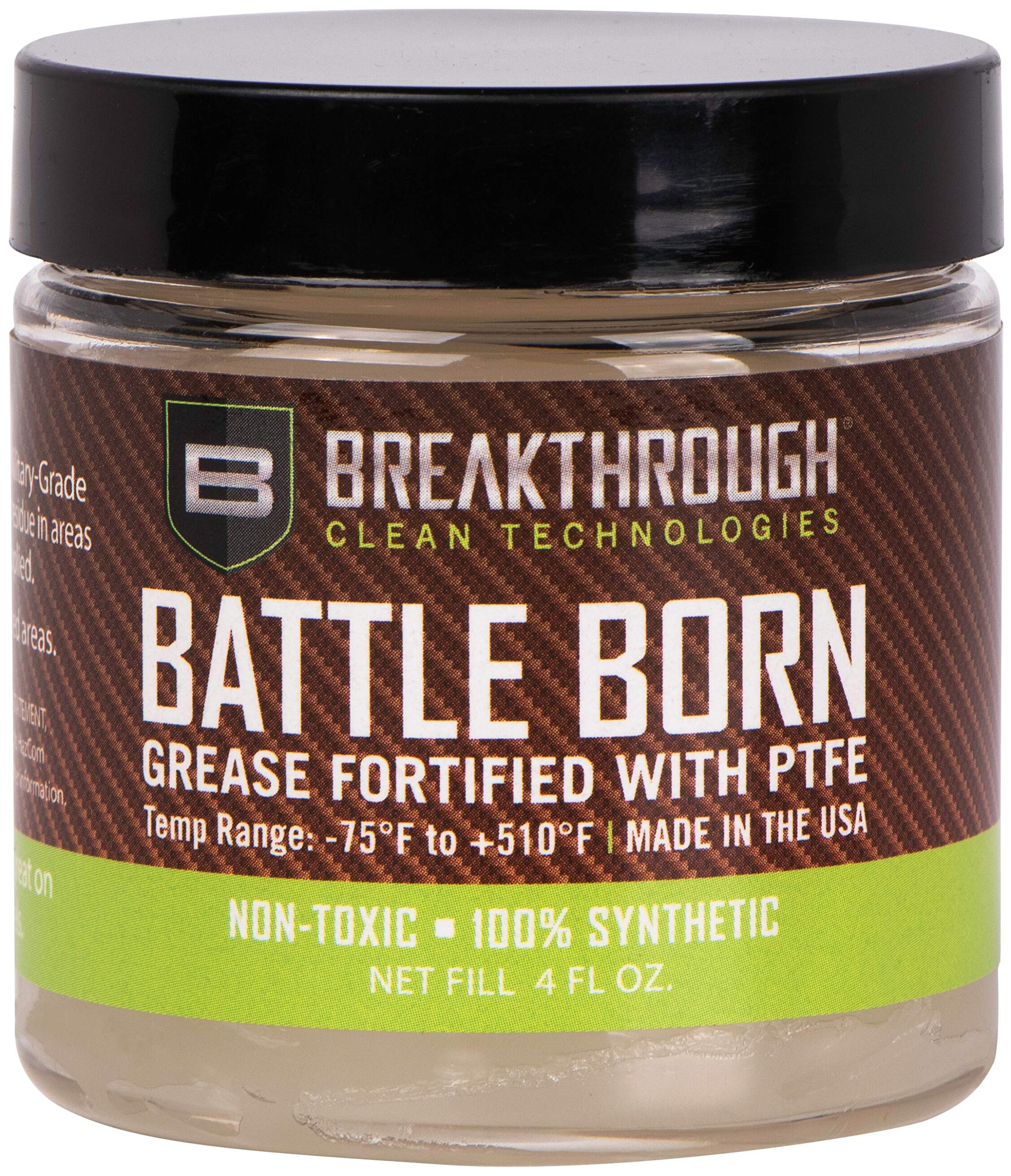 BREAKTHROUGH CLEAN TECHNOLOGIES - Battle Born Grease for Corrosion Protection (4 oz Jar)