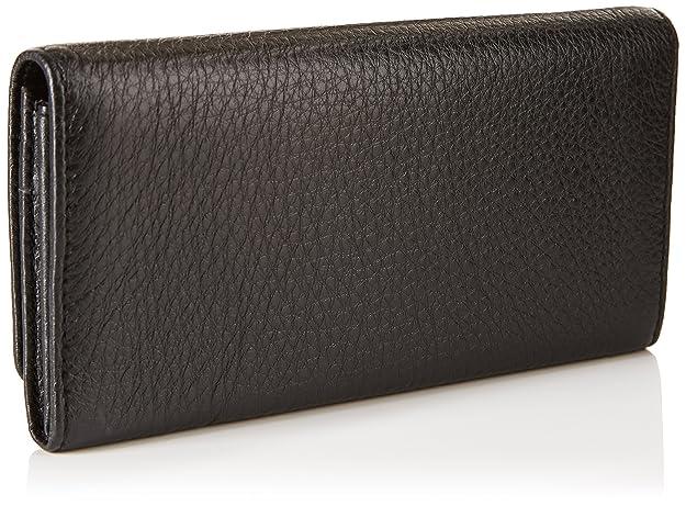 Bimba y Lola - cartera con solapa para mujer, color negro: Amazon.es: Zapatos y complementos