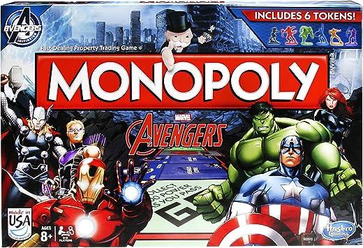 Vengadores Juego de Mesa Monopoly *Edición Inglés*: Amazon.es: Juguetes y juegos
