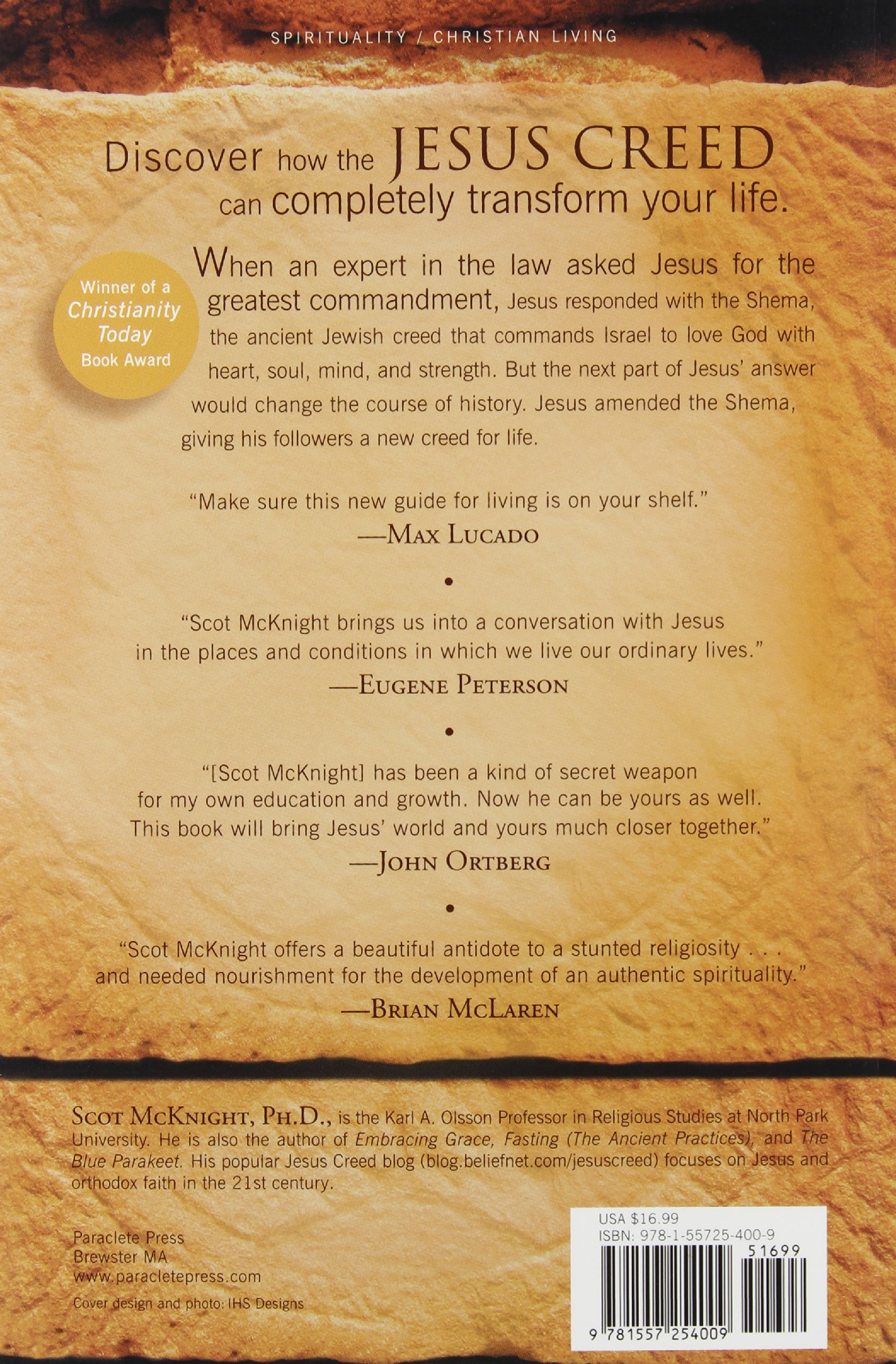 The Jesus Creed: Loving God, Loving Others: Scot Mcknight