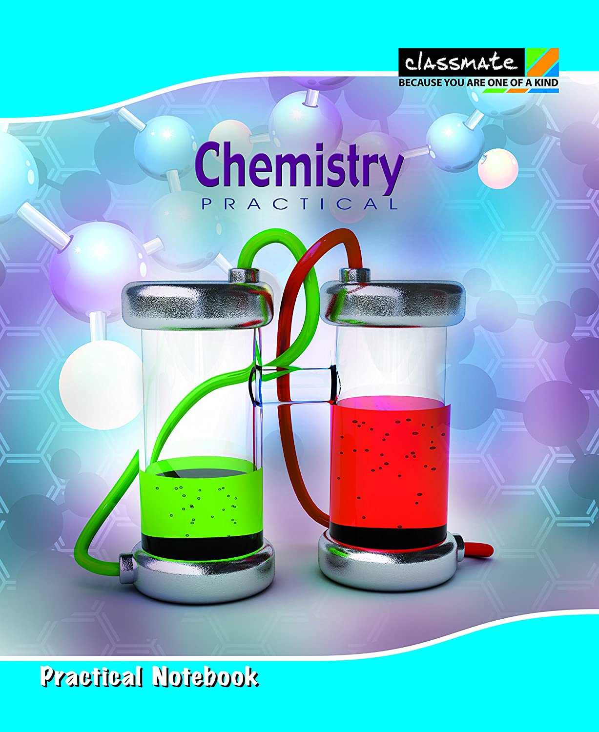 classmate practical notebook chemistry cover 116 pages