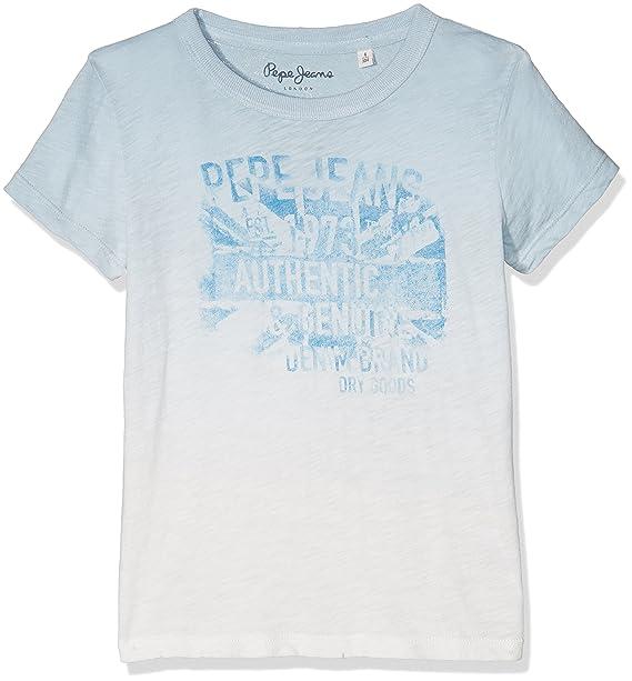 Pepe Jeans Johan Jr, Camiseta Niñas, Blanco (Off White), 14 años