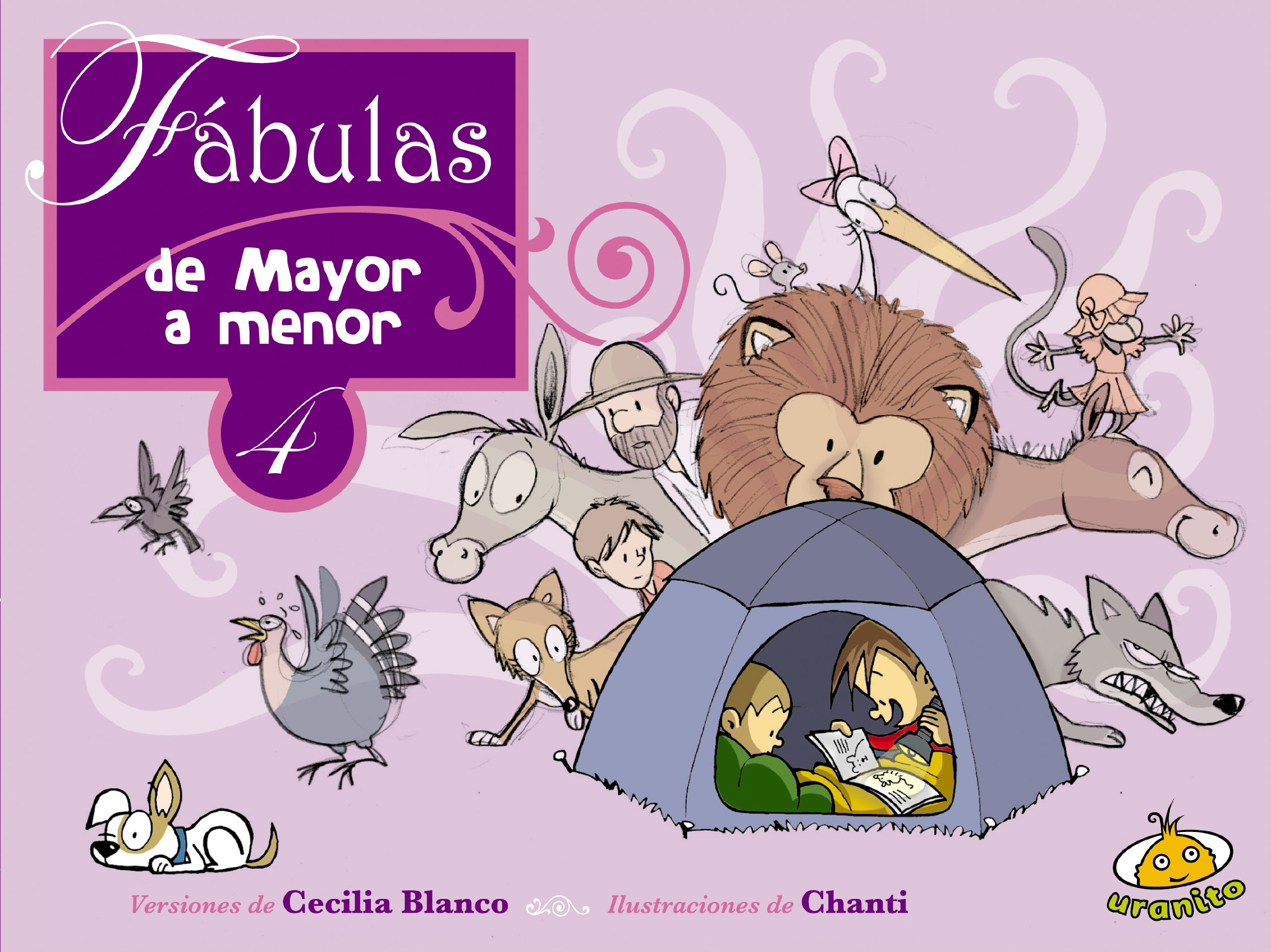 Read Online Fabulas de mayor a menor 4 (Spanish Edition) (Fables from Oldest to Youngest) pdf epub