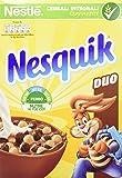 Nesquik Duo Cereali Palline al Cioccolato Nesquik e Palline Ricoperte di Cioccolato Bianco, 325g