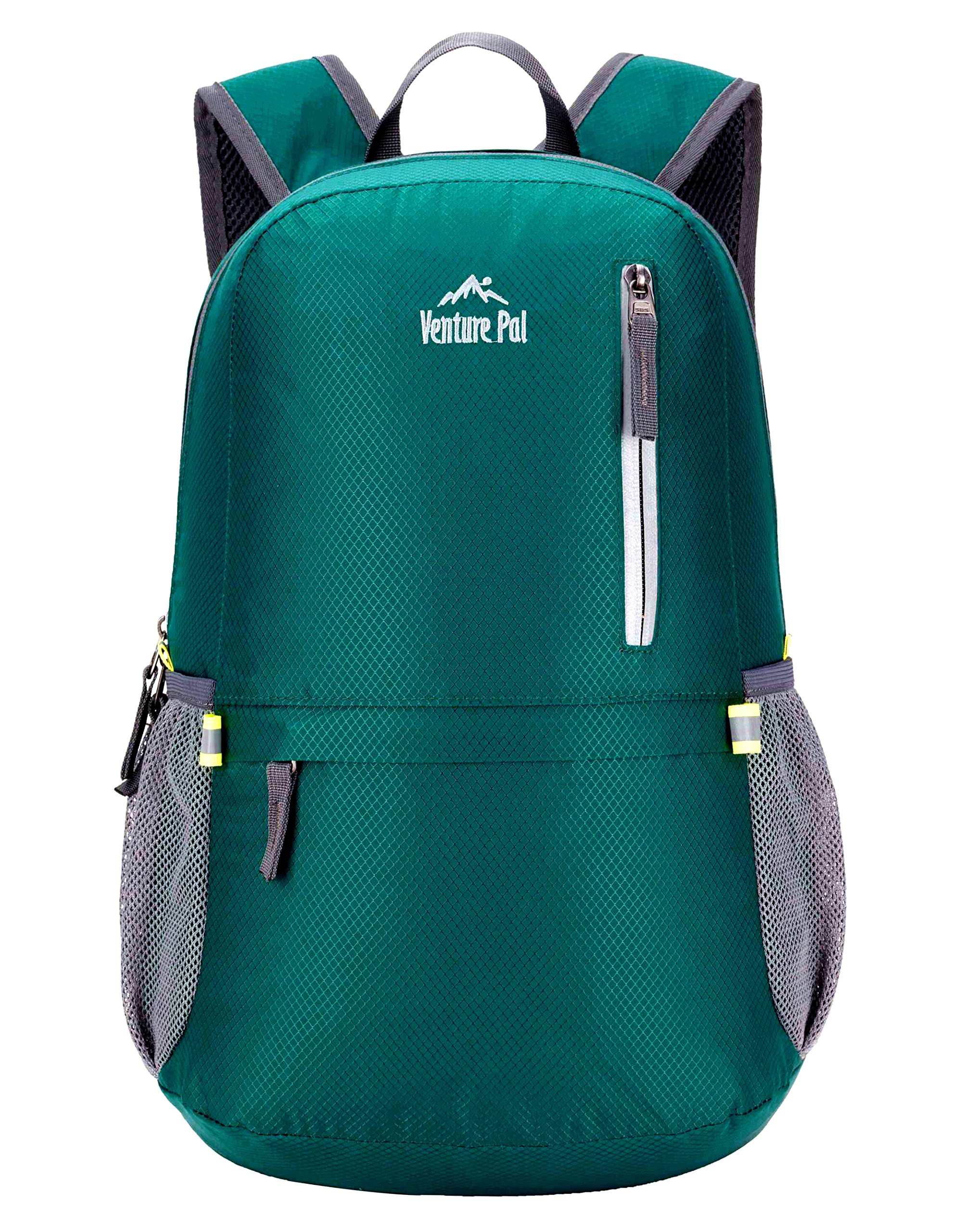 Venture Pal 25L Travel Backpack - Durable Packable Lightweight Small Backpack Women Men (Green) … by Venture Pal (Image #2)