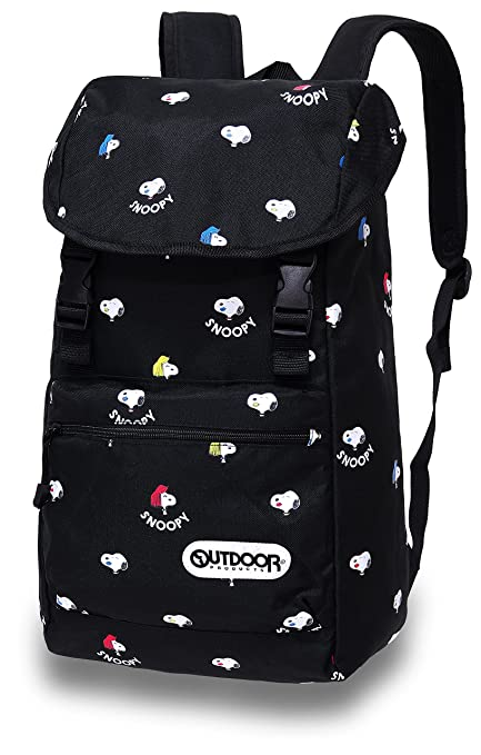 5c5867c172a9 OUTDOOR Peanuts Snoopy Backpack SY933 Black  Amazon.ca  Home   Kitchen