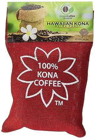Amazon Com 1lb 100 Hawaii Hawaiian Kona Extra Fancy Coffee Beans Grocery Gourmet Food