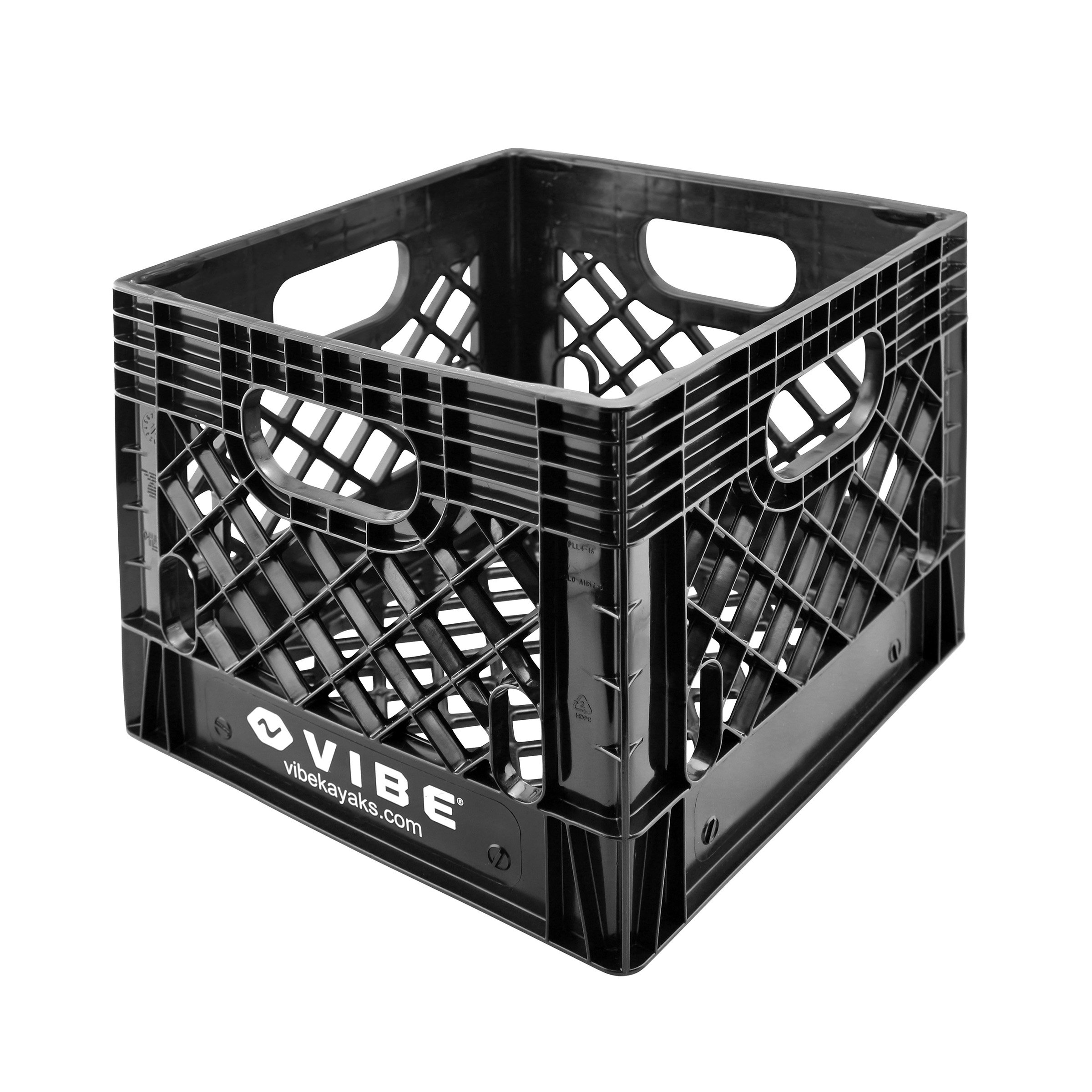 Vibe 16 Quart Milk Crate Camping Kayak Storage