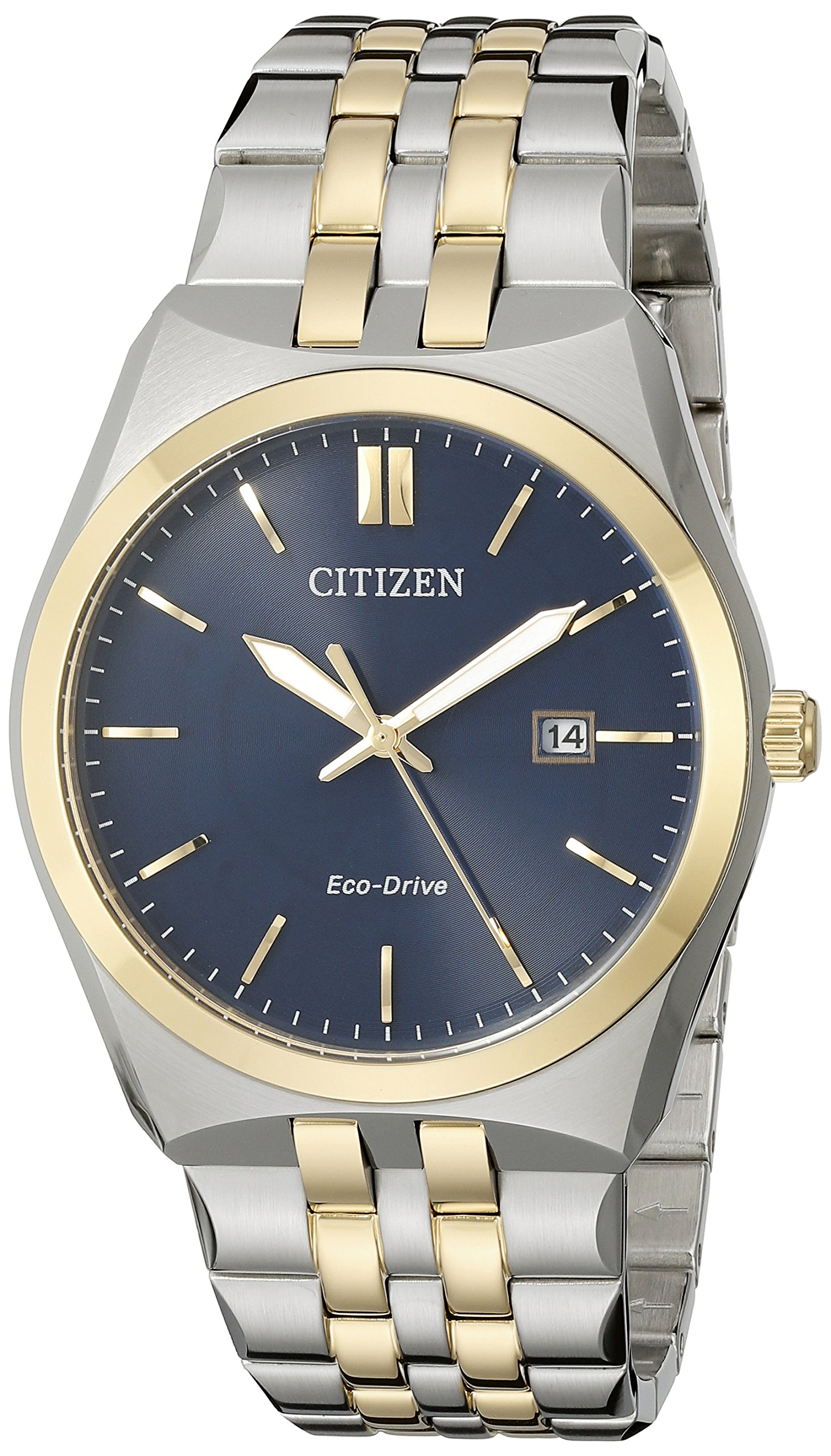 Citizen Men's Eco-Drive Stainless Steel Watch with Date, BM7334-58L