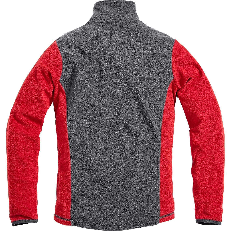 Fleecepullover Damen farbig abgesetzte Details tragangenehmes Microfleece FLM Fleeceshirt Fleeceshirt Damen Fleece Shirt 1.0