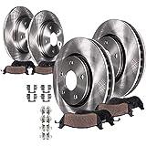 Detroit Axle - Front & Rear Disc Replacement Brake Kit Rotors Ceramic Pads w/Hardware for 2003 2004 2005 2006 2007 Honda…