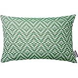 Tom Tailor 564132 T-Freaky Housse de Coussin Coton/Polyester Vert 50 x 30 x 1 cm