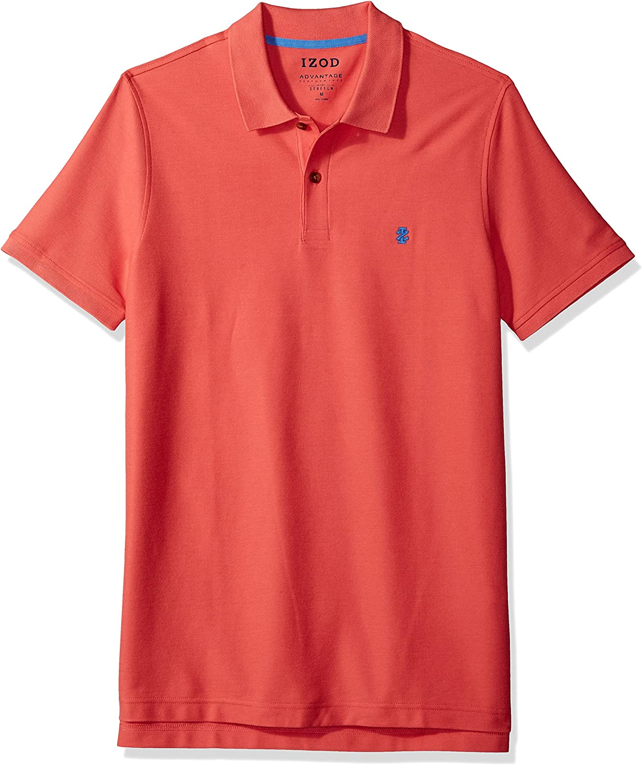 Izod Mens Slim Fit Advantage Performance Short Sleeve Polo Shirts Discontinued by Manufacturer