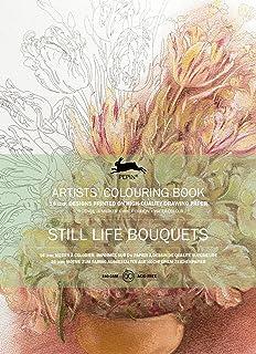 Libro di celebrità Colorare Pepin Still Life Bouquet 16motivi Mandala cordoncino 8048