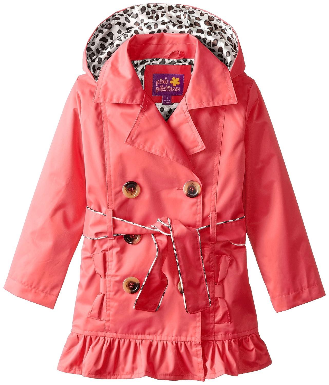 Pink Platinum Girls' Double Leopard Jacket Pink Platinum Girls 2-6x PP82000