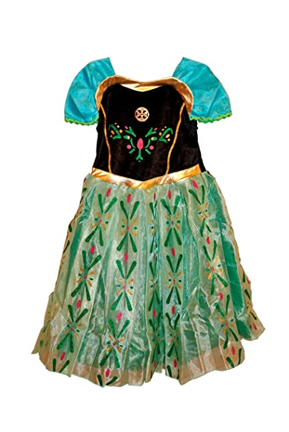 Frozen Princess Anna Costume Anna Dress Size 2T  sc 1 st  Amazon.com & Amazon.com: Frozen Princess Anna Costume Anna Dress Size 2T: Clothing