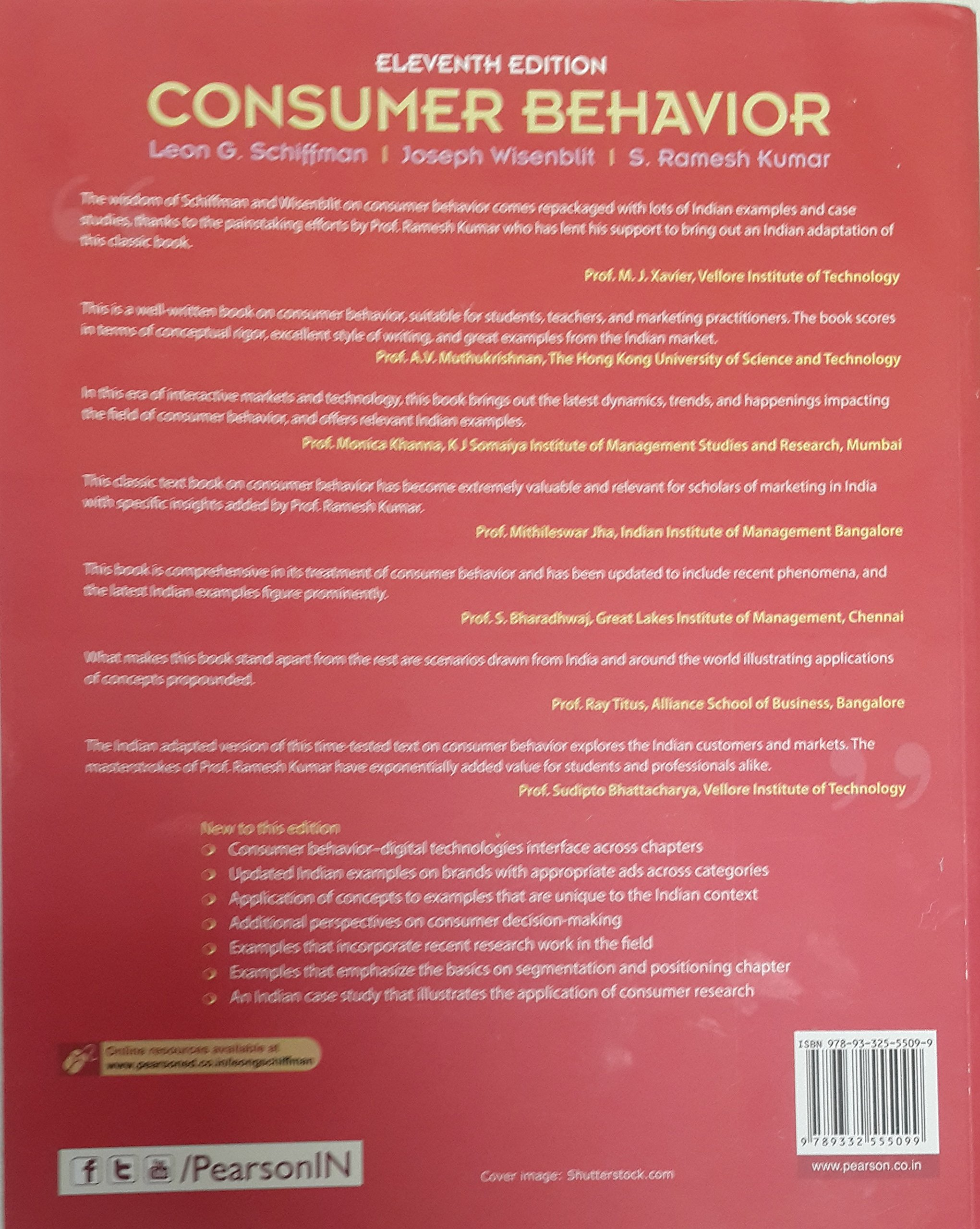 buy consumer behaviour 11 e 4 colour book online at low prices in