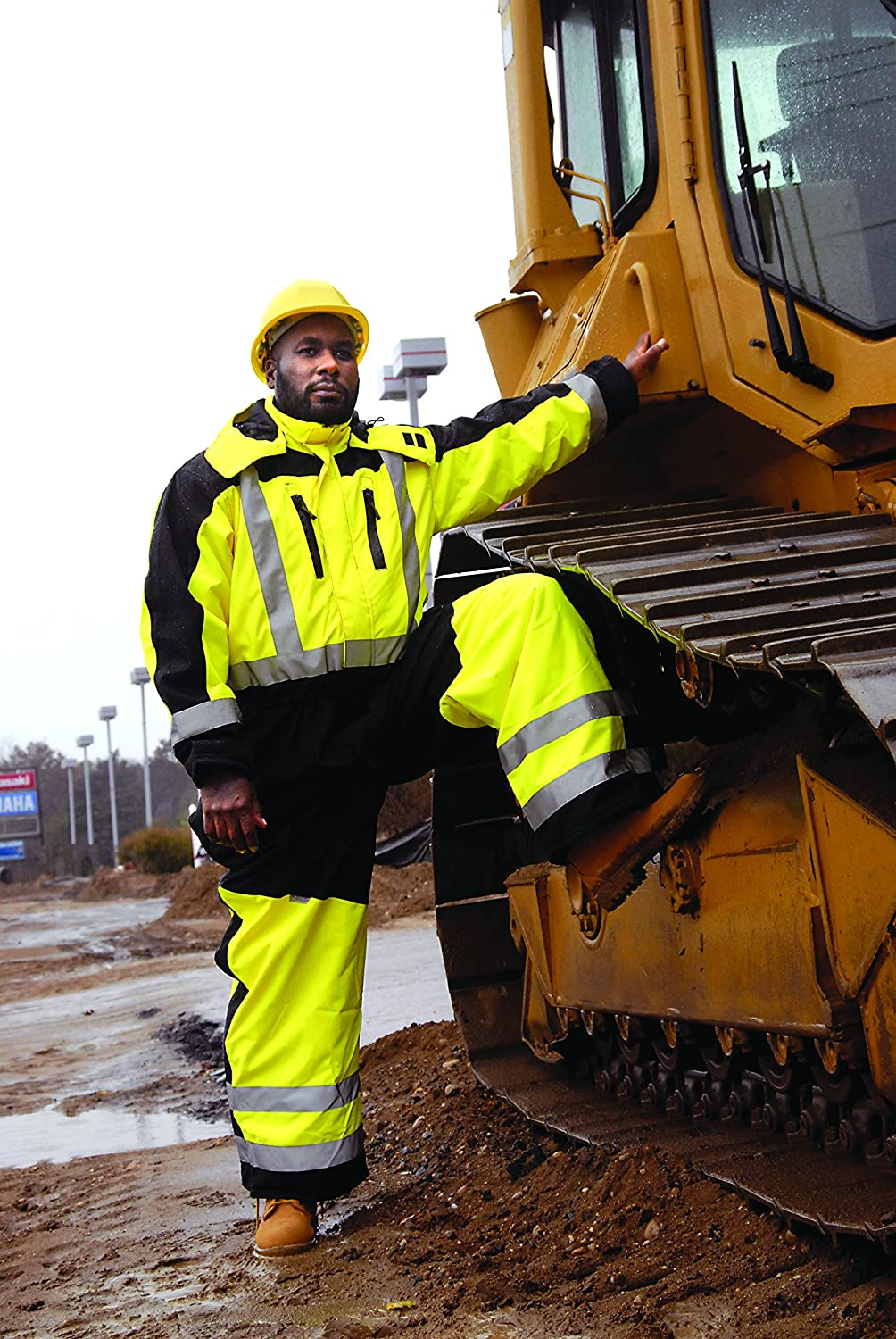 XX-Large Yellow Occunomix SP-CVL-BY2X Speed Collection Premium Cold Weather Coverall
