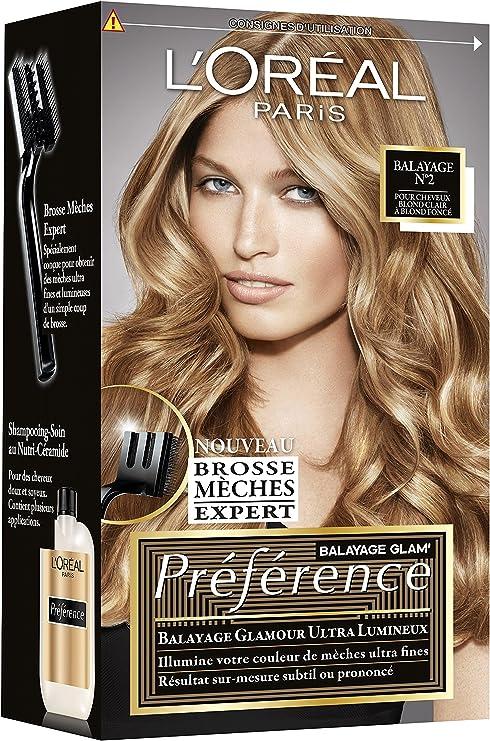 L Oreal Paris Preference Kit Meches Balayage Cheveux Blond Clair