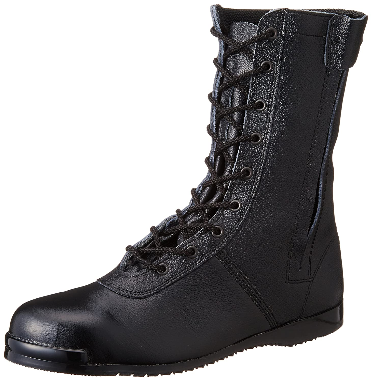 [エンゼル] 高所作業用靴 高所用長編チャック CH-S5800  6B049 B007P2AAYW  ブラック 23.5 cm