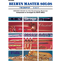 Belwin Master Solos, Volume 1 (Trumpet) book cover