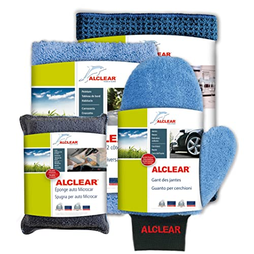 ALCLEAR 8201000 Kit d'Entretien de Voitures Pro