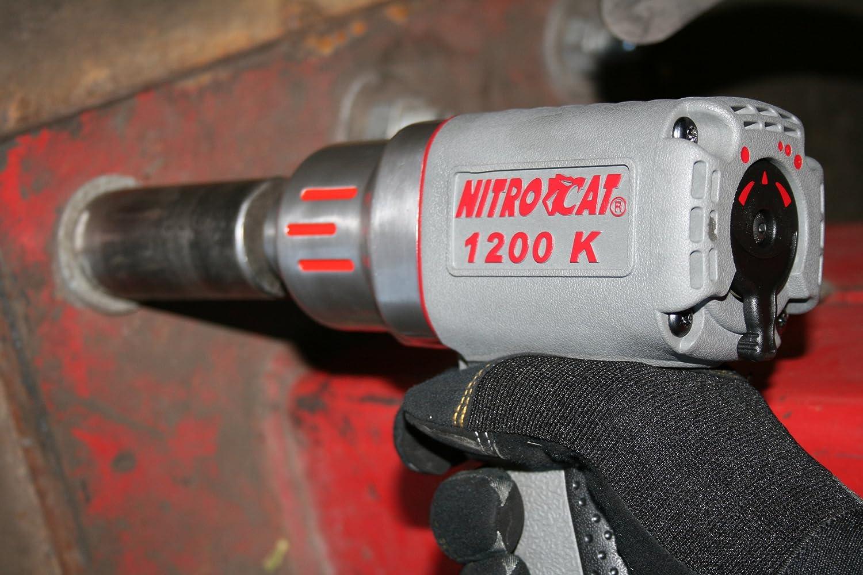 NitroCat 1200-K 1/2-Inch Kevlar Composite Air Impact Wrench