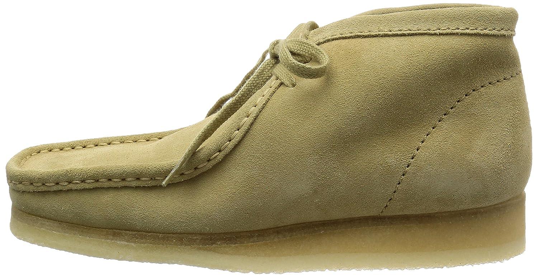 Clarks Kurzschaft Originals Wallabee Boot Herren Kurzschaft Clarks Stiefel Taupe bc328e