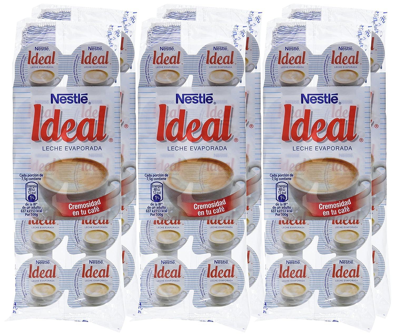 Nestl - Ideal - Leche evaporada - 10 x 7.1 ml - , Pack de 6: Amazon.es: Alimentación y bebidas