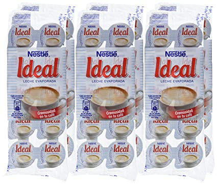 Nestl - Ideal - Leche evaporada - 10 x 7.1 ml - , Pack de 6