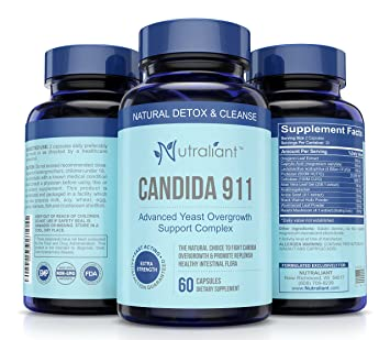 Amazon.com: Candida 911 Best Candida Cleanse – Complejo de ...
