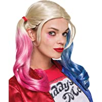 Rubie's Womens 33608 Suicide Squad Harley Quinn Value Wig Costume Accessory