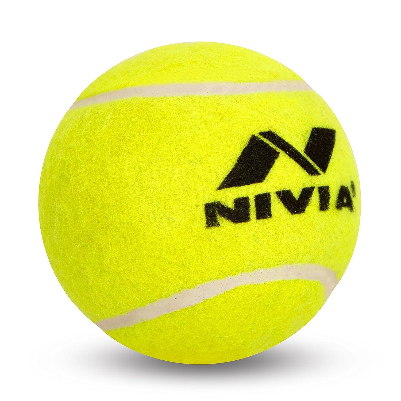 d91e3f33e37 Buy Nivia Light Weight Rubber Tennis Cricket Ball