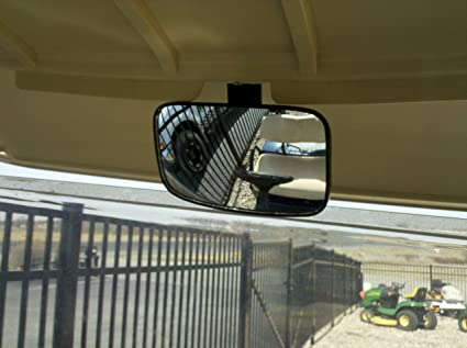 Amazon.com : Golf Cart Rear View Mirror for Ez Go, Club Car, Yamaha on