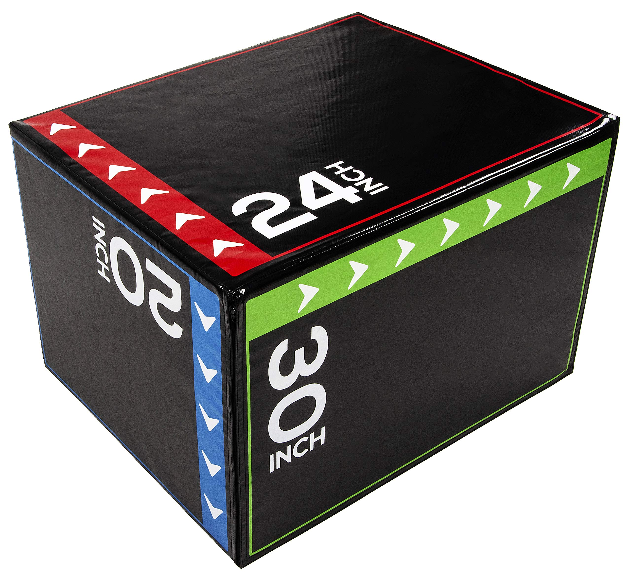 """BalanceFrom 3 in 1 20"""" 24"""" 30"""" Foam Plyometric Box Jumping Exercise"""