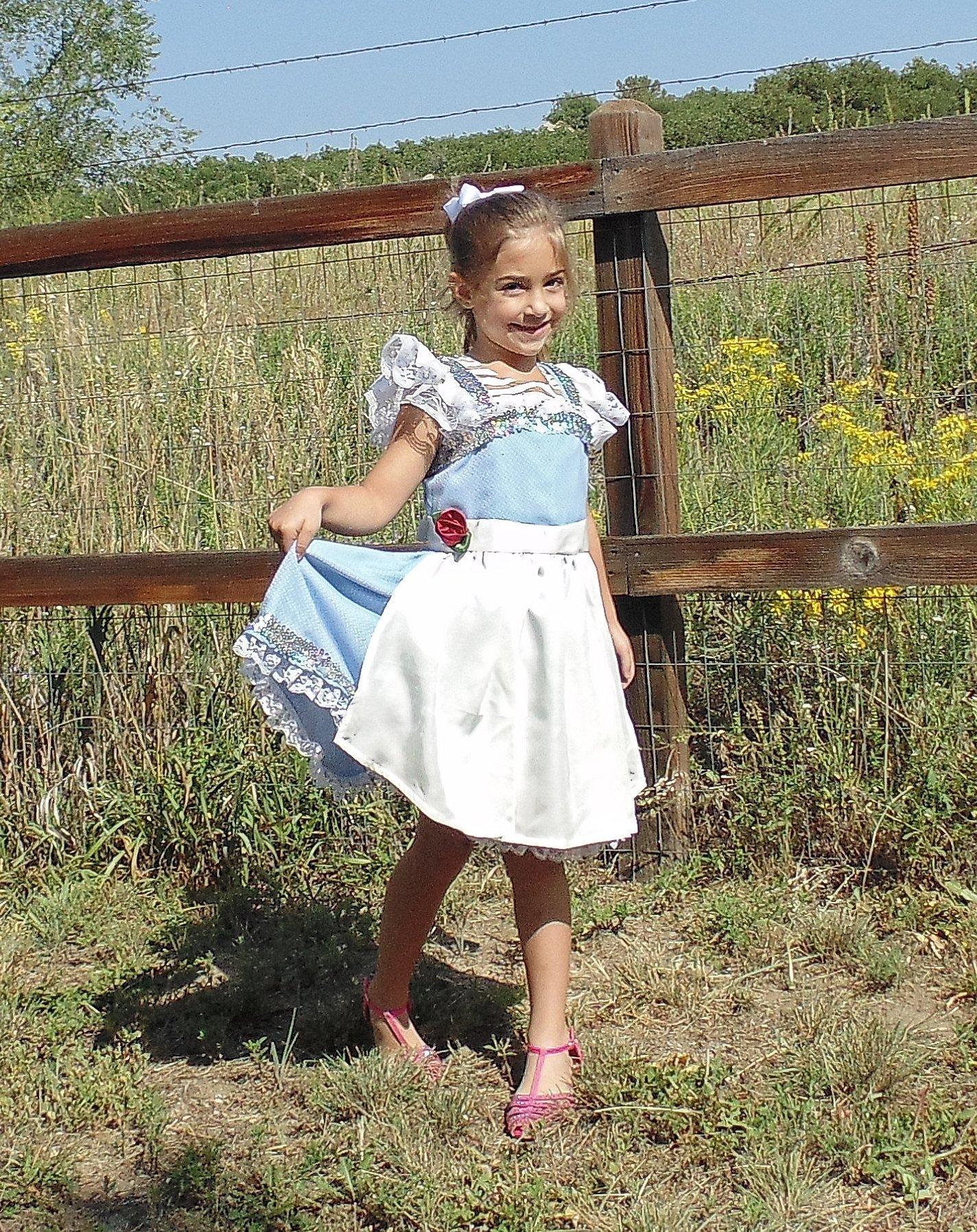 Girls 5-6 Belle Dress up Apron
