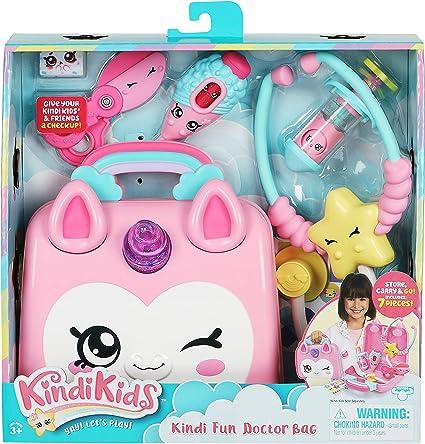 NEW Kindi Kids Unicorn Ambulance Playset