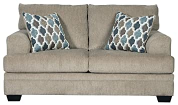 Signature Design by Ashley - Dorsten Contemporary Loveseat, Sisal Beige
