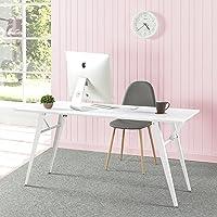 Zinus Lindy Folding Office Desk Laptop Computer Study Student Table Furniture - 160 cm