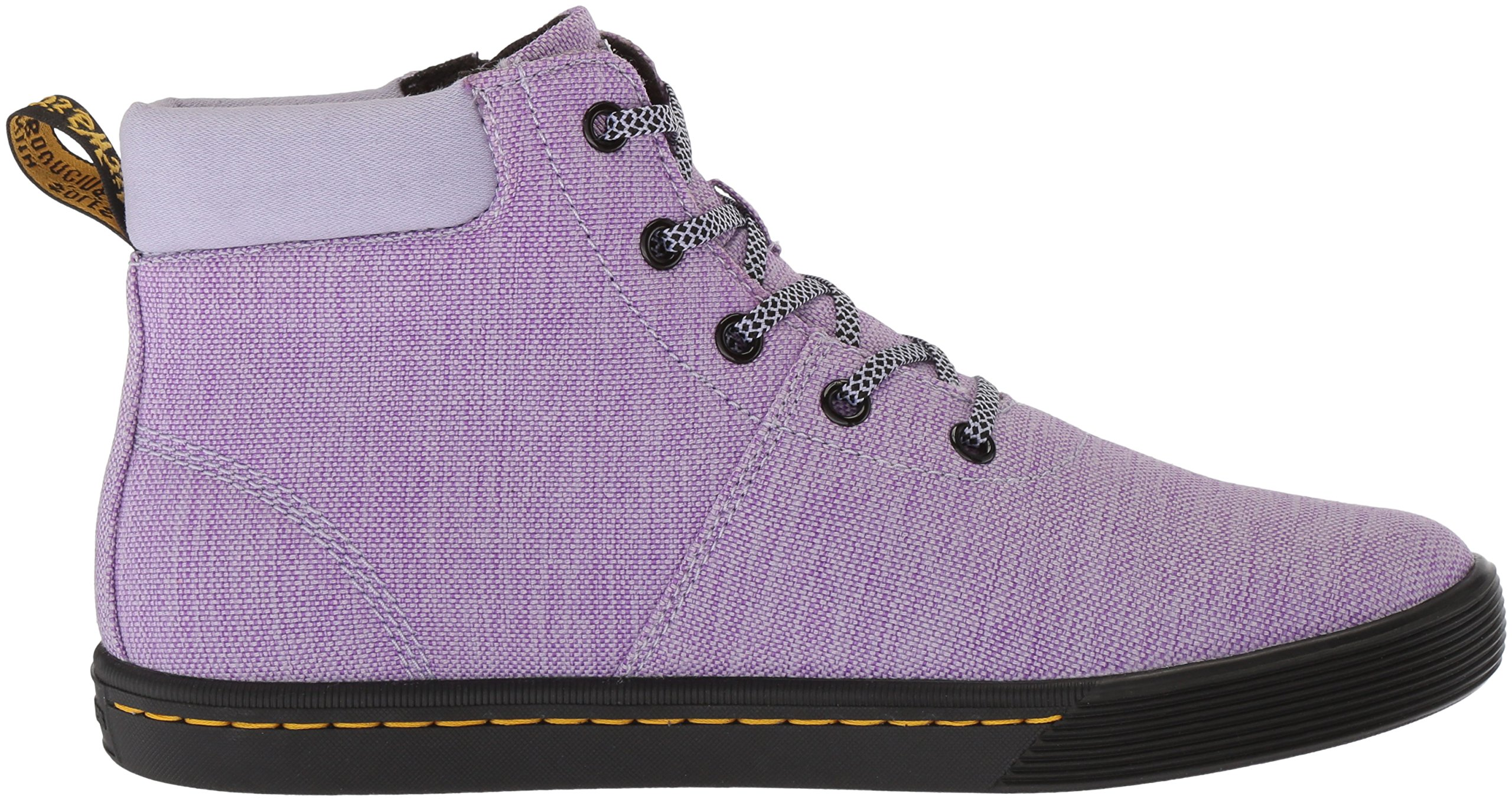Dr. Martens Women's Maegley Fashion Boot, Purple Heather Woven Textile+Fine Canvas, 6 Medium UK (8 US) by Dr. Martens (Image #6)